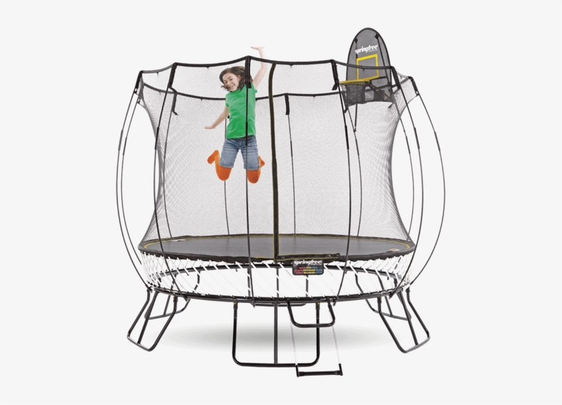 Square Trampoline Frame With 4 Arches